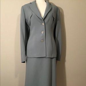 Giorgio Armani Wool Blue Gray Suit, Suit 12
